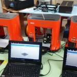 3Dプリンタの授業