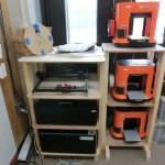 3Dプリンタの棚作成