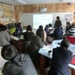 授業「ものづくりの入門」の最終課題発表会